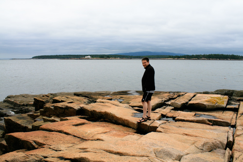 Craig on Schoodic Peninsula