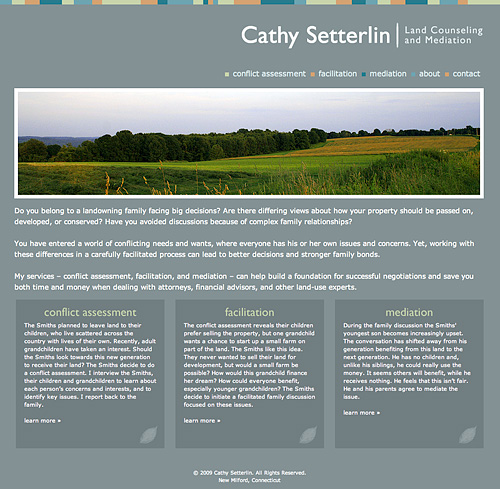 Cathy Setterlin's Website