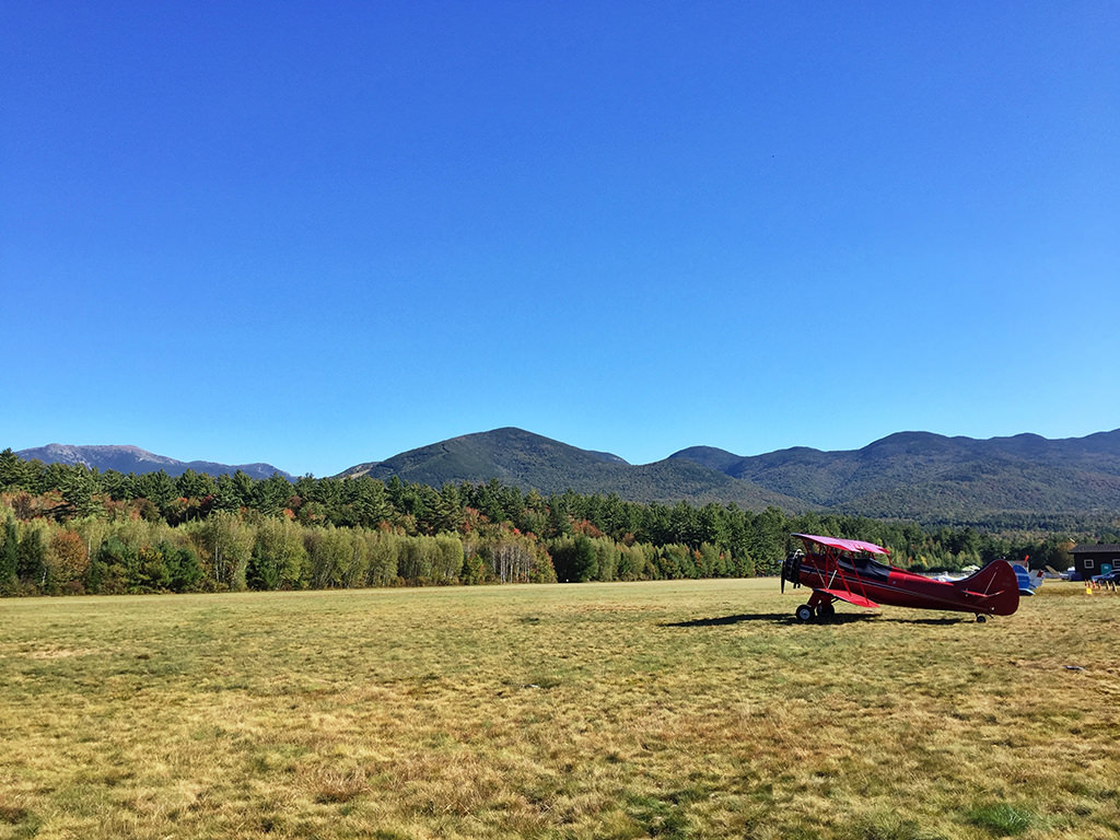 Red Plane in Franconia New Hampshire